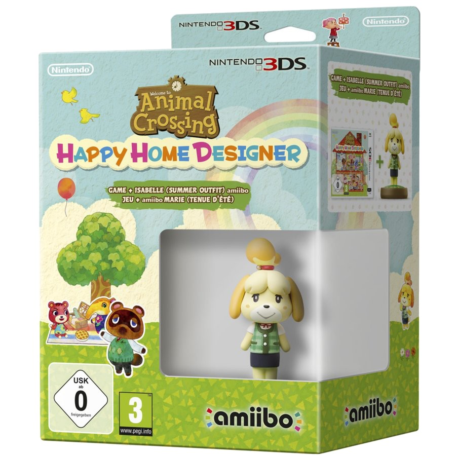 Animal Crossing: Happy Home Designer + Amiibo Canela Edición
