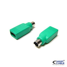 ADAPTADOR USB A PS/2, TIPO A/H-PS/2/M
