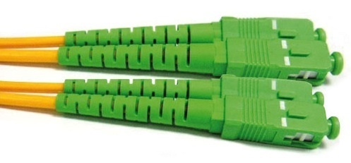 Cable de Fibra Optica Monomodo 10 M.