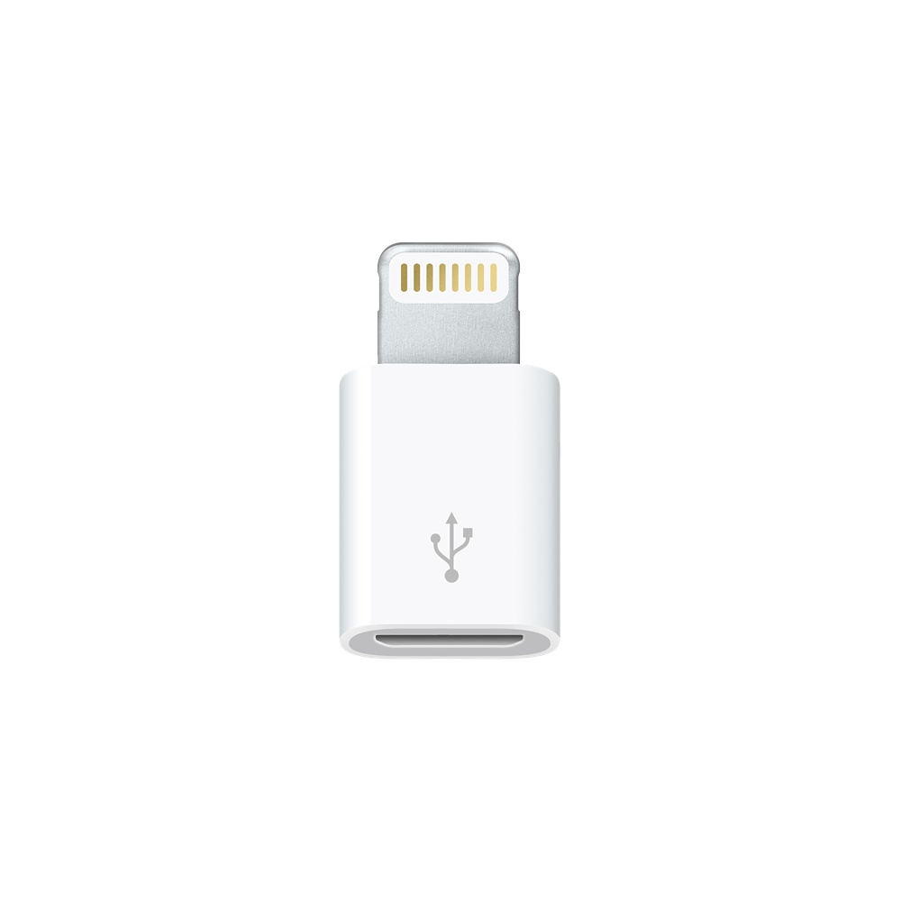 Adaptador Micro USB Hembra a Lightning 8 Pin Macho