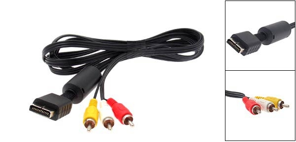 Cable AV PS2/PS3 RCA