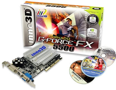 Inno Geforce FX5500 256MB AGP