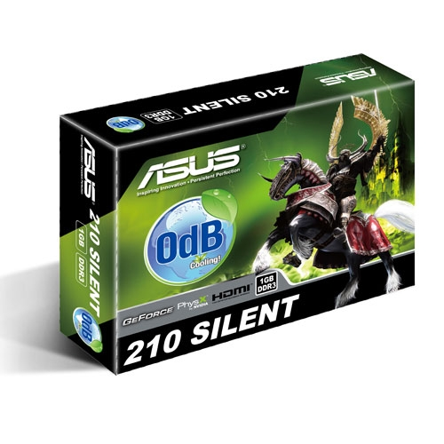 Asus GeForce EN210 Silent 1GB GDDR3 Low Profile