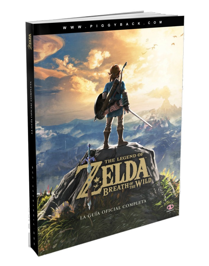 Nintendo Guia Zelda Breath of the Wild