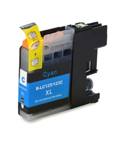 Brother LC121/123/125 Cyan Cartucho Compatible Chip Nuevo