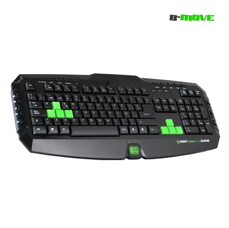 B-MoveTeclado Gaming Burst Teclas Reflectantes UV