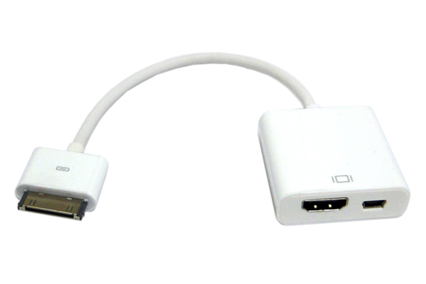 Adaptador HDMI y Mini USB Hembra a Macho IPAD/Ipod