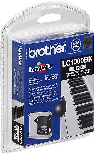 Brother LC1000BK Negro Cartucho Original