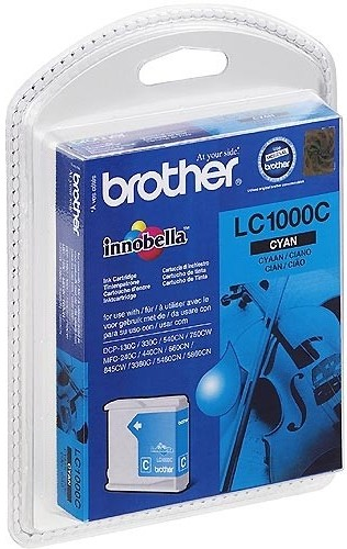 Brother LC1000C Cyan Cartucho Original