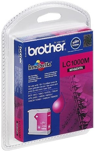 Brother LC1000M Magenta Cartucho Original