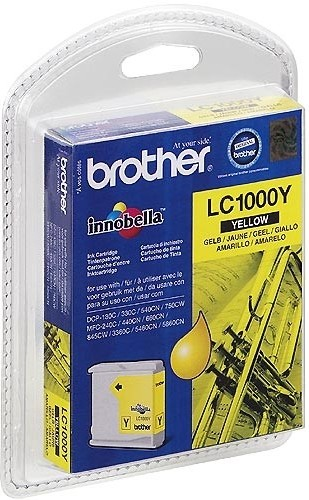 Brother LC1000Y Amarillo Cartucho Original