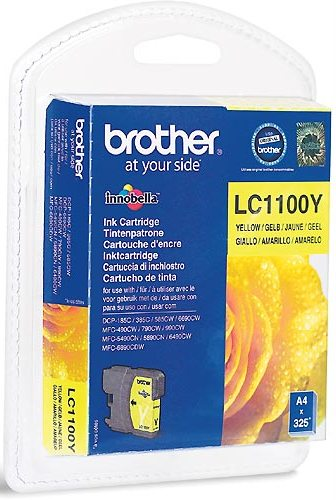 Brother LC1100 Amarillo Cartucho Original