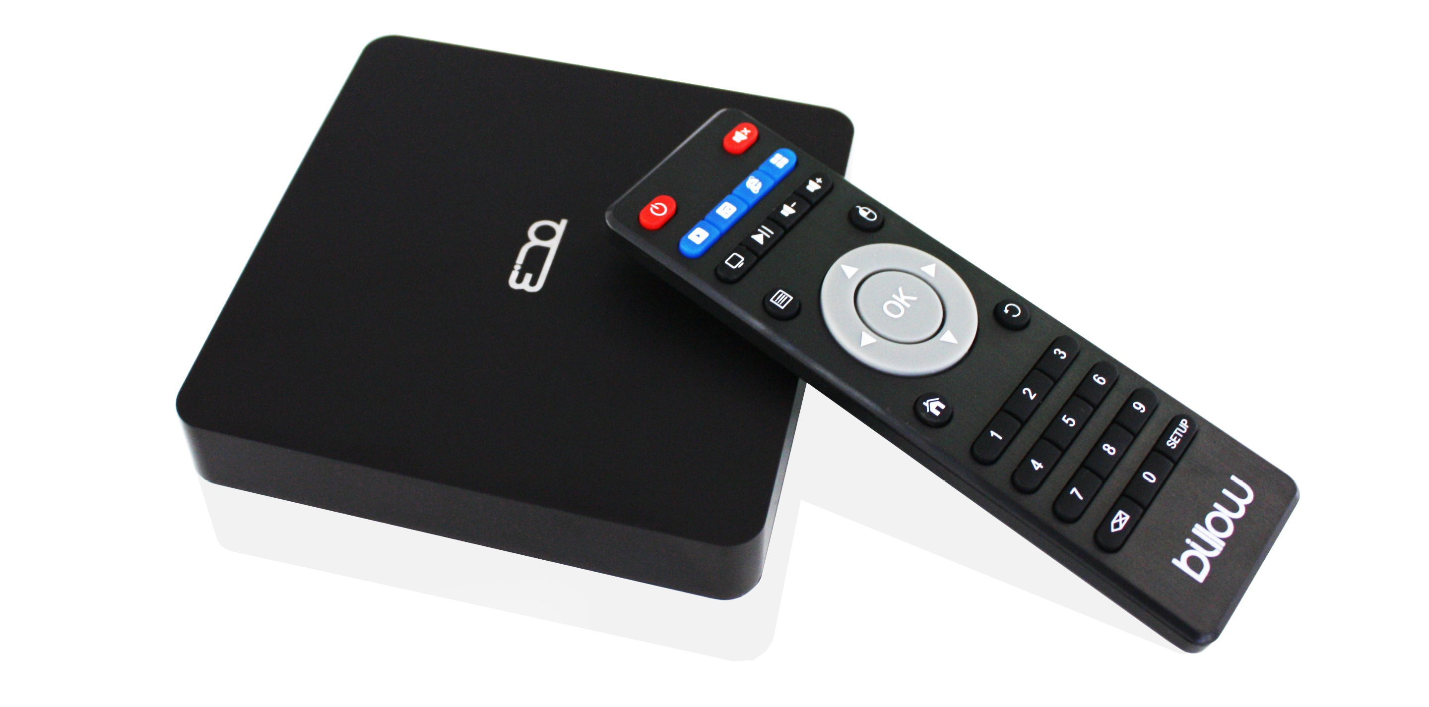 Billow Android TV MD08v2 4K HD, Quad-core 2GHz,