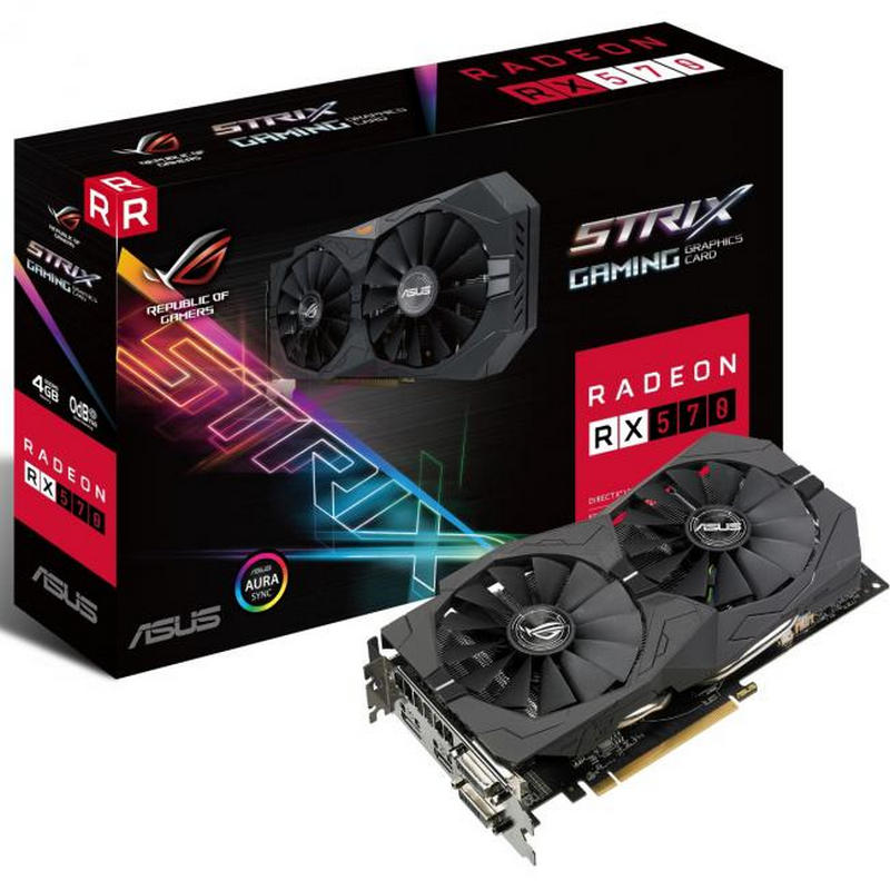 Asus Radeon RX570 4GB Strix Gaming