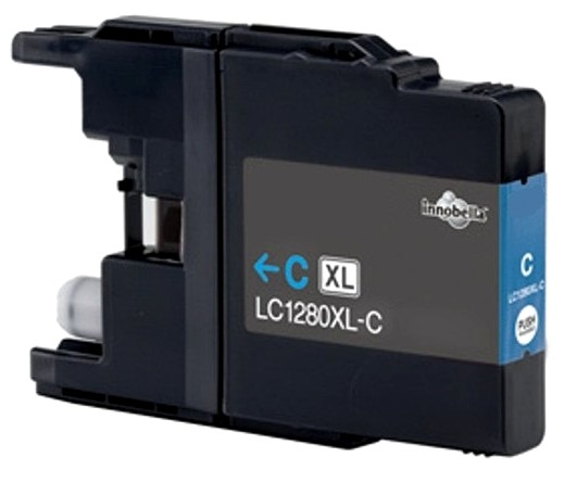 Brother LC1280/1240/1220 XL Cyan Compatible