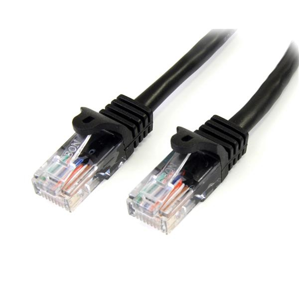 Cable de Red 7 Metros Cat5e Negro